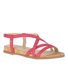 Hush Puppies Dalmation Pinstud Leather Sandal
