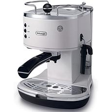 Icona 15-Bar Pump Driven Espresso/Cappuccino Maker - White