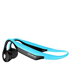 iDeaPLAY ES368 Bone Conduction Wireless Headphones with Case