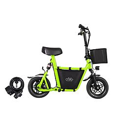 IdeaPLAY Q1S Foldable eBike with Basket, Bag and Bike Lock