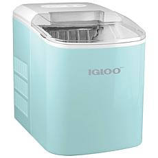 Igloo 26 lb. Automatic Ice Cube Maker in Aqua