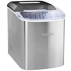 Igloo 26 lb. Automatic Ice Cube Maker in Stainless Steel