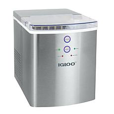 Igloo 33-Pound Ice Maker - Stainless Steel