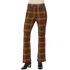 IMAN Global Chic 360 Slim Ponte Boot-Cut Pant