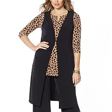 IMAN Global Chic Duster Vest