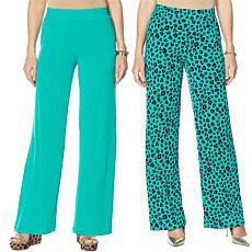 IMAN Global Chic Luxury Resort 2-pack Palazzo Pants