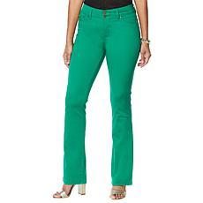 IMAN Global Chic Luxury Resort 360 Slim Bootcut Jean - Fashion