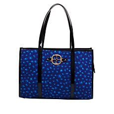IMAN Global Chic Luxury Resort Leopard-Print Tote