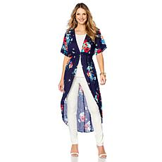 IMAN Global Chic Luxury Resort Lightweight Duster