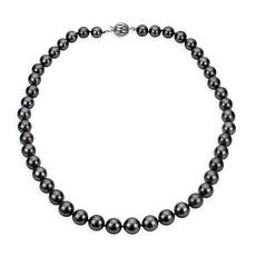 "Imperial Pearls 18"" 18K 8-10.5mm Cultured  Tahitian Pearl Necklace"