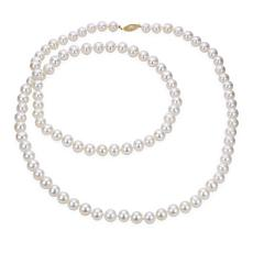 """Imperial Pearls 36"""" 14K 8.5-9.5mm Cultured Freshwater Pearl Necklace"""