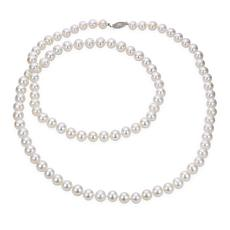"Imperial Pearls 36"" 14K 8.5-9.5mm Cultured Freshwater Pearl Necklace"