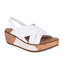Impo Jolene Stretch Elastic Platform Wedge Sandal