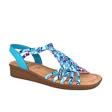 Impo Rosette Stretch Sandal with Memory Foam