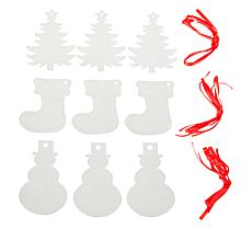 ImpressArt Holiday 3-pack Ornament Stamp Kit