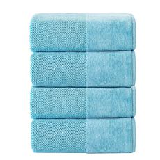 Incanto Turkish Cotton 4-piece Bath Towel Set