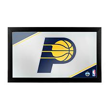Indiana Pacers NBA Framed Logo Mirror