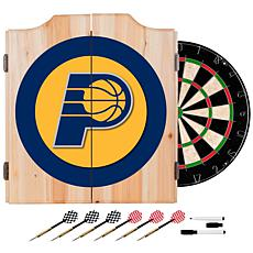 Indiana Pacers NBA Wood Dart Cabinet Set