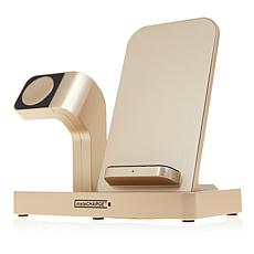instaCHARGE All-In-One Watch and Phone Wireless Charging Stand