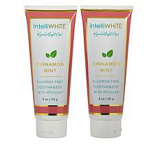 intelliWHiTE® Cinnamon Mint Fluoride-Free Toothpaste w/Xyliclay™ Duo