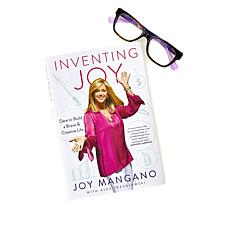 """Inventing JOY"" Hand-Signed Hardcover Book with Free Readers"