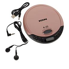 ION Audio CD GO Portable CD Player with Bluetooth and Earbuds
