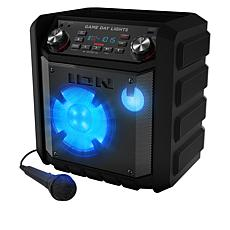 ION Audio Game Day Indoor/Outdoor Portable Speaker with Lights & Mic