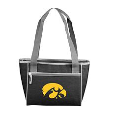 Iowa Crosshatch 16-Can Cooler Tote