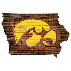 Iowa Distressed State with Logo