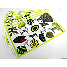 Isabella Cane 8-piece Indoor/Outdoor Placemat Set