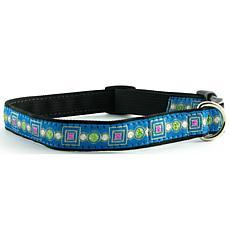 Isabella Cane Dog Collar - Jewels Blue