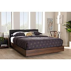 Iselin Fabric Upholstered Queen Size Storage Platform Bed