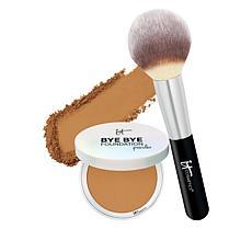 IT Cosmetics Bye Bye Foundation Finishing Powder with Brush