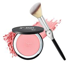 IT Cosmetics Bye Bye Pores Poreless Blush w/Brush Sweet Cheeks