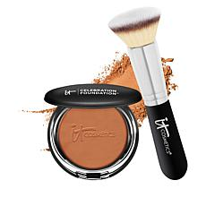 IT Cosmetics Celebration Foundation with Luxe Brush