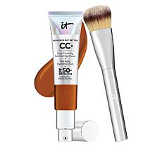 IT Cosmetics Honey Full Coverage SPF 50 CC Cream with Plush Brush
