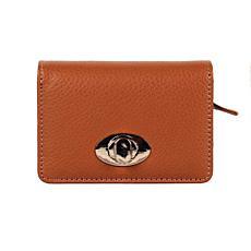 ItzMagic! Studios 19 Pocket Leather RFID Buckle Wallet