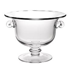 "Jack Badash Champion European 13"" Mouth-Blown Crystal Punch Bowl"