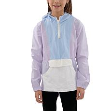 Jake and Anna Kids' Color Block Pullover Windbreaker