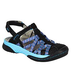 Jambu Originals Eclipse All Terrain Leather and Mesh Sport Sandal
