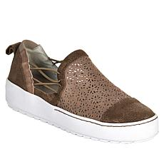 Jambu Originals Erin Perforated Suede Slip-On Sneaker