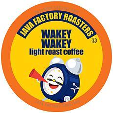 Java Factory Light Roast Coffee Pods, Wakey Wakey 80-Count
