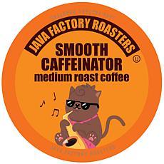 Java Factory Medium Roast Coffee Pods Smooth Caffeinator 80-Count