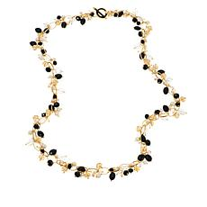 "JAY Jay Strongwater ""Glittering"" Beaded Toggle Necklace"