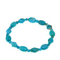 Jay King Angel Peak Turquoise Stretch Bracelet
