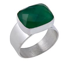 Jay King Chrysoprase Sterling Silver Ring