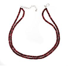 "Jay King Double Strand Beaded Gemstone 18"" Necklace"