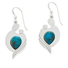 Jay King Gallery Collection Mother & Child Turquoise Earrings
