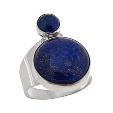 Jay King Lapis Sterling Silver Circle Ring