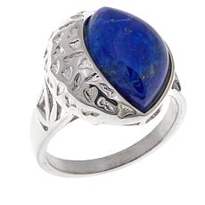 Jay King Lapis Sterling Silver Textured Ring